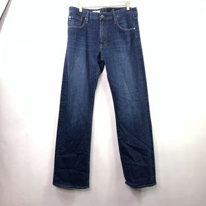 AG Mens 34×34 The Hero Jeans Relaxed Fit Jeans